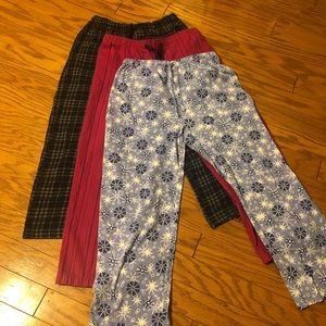 💜3/$15 Pajama Pants Bundle
